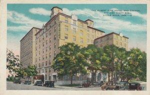 LITTLE ROCK, Arkansas, 1910s ; Albert Pike Hotel & Garage, 7th & Scott Sts.