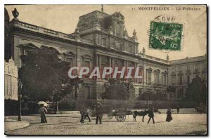 Old Postcard The MONTPELJLIER Prefecture