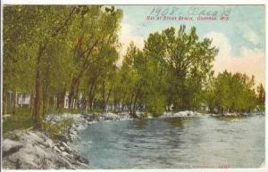 Bay at Stony Beach, Oshkosh, Wisconsin, PU-1908