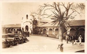 D16/ Tijuana Mexico Mexican RPPC Real Photo Postcard c30s Hotel Aqua Caliente