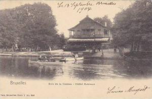 Belgium Brussels Bois de la Cambre Chalet Robinson 1904