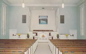 ROCK Hill , South Carolina , 40-60s ; Interior of Park Baptist Church