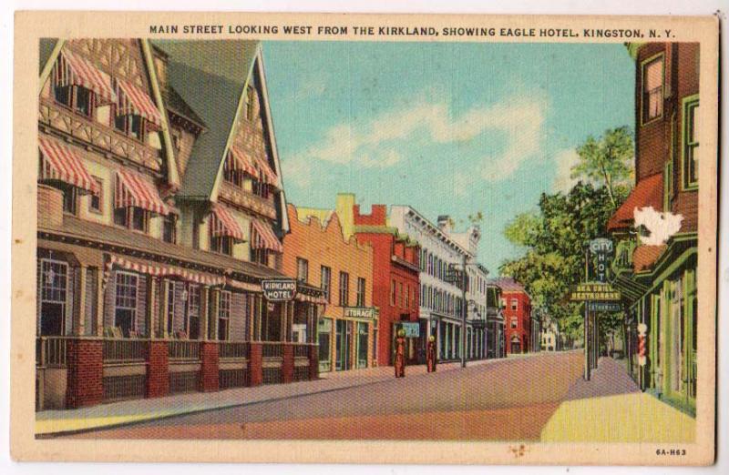 Main St Eagle Hotel Kingston Ny