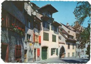 Switzerland, Basel, Petersgasse, unused Postcard