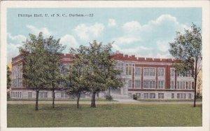 Phillips Hall U Of N C Durham North Carolina
