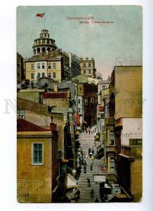 191318 TURKEY CONSTANTINOPLE Yuksek Kalderim Vintage postcard