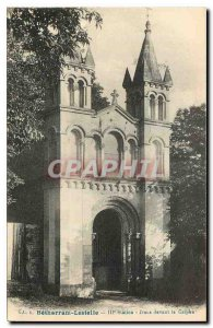Old Postcard Betharram Lestelle Station III Jesus before the Carphe