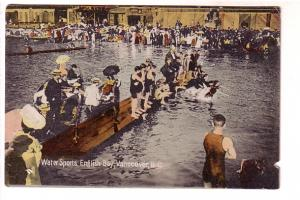 Many People, Great Victorian Bathing Suits, Water Sports, English Bay, Vancou...