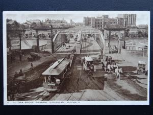 Australia (Emigration) BRISBANE Victoria Bridge c1924 Postcard by Raphael Tuck