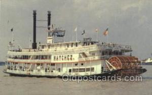 Natchez Ferry Boats, Ship, Ships, Postcard Post Cards  Natchez