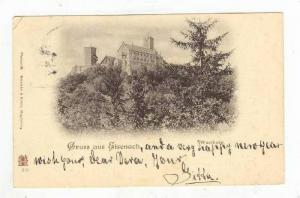 Wartburg, Gruss Aus Eisenach (Thuringia), Germany, 1900-1910s