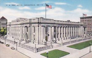 Post Office Indianapolis Indiana 1953