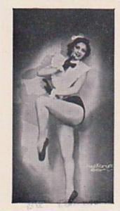 R & J Hill Vintage Cigarette Card Modern Beauties No 46 Estelle