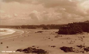Newquay The Sands Judges LTD Panoramic view Postcard