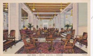 Illinois Chicago The East Room Y M C A Hotel Curteich