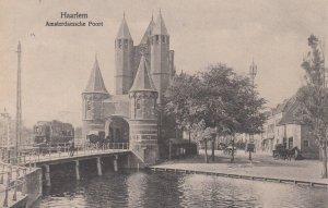 HAARLEM, Noord-Holland, Netherlands, 1900-1910's; Amsterdamsche Poort