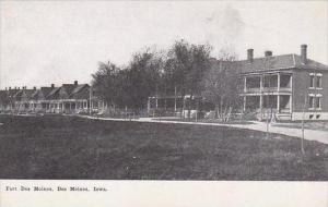 Iowa Des Moines Fort Des Moines