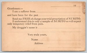 Chicago~ IL Magistral Chemical Co~Nurito Patent Medicine For Rheumatism~c1912