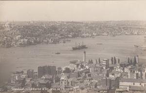 RP; Stamboul , Turkey, 1900-10s ; La Corne d'Or. pres de l'Arsenal