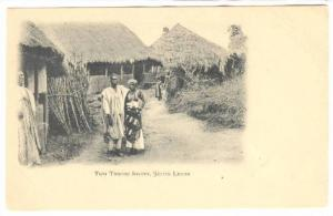 Two Timnee lovers , Sierra Leone , Pre-1907