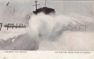 Clearing the Tracks An Electric Snow Plow in Canada, PU-1900-10s