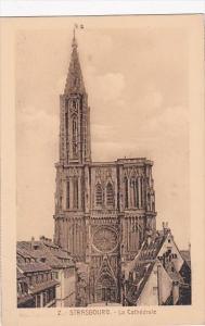France Strasbourg La Cathedrale