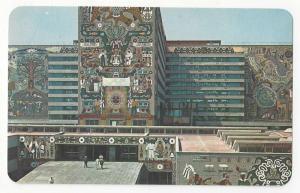 Mexico Secretarias de Comunicaciones Murals Vtg Postcard