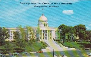 Alabama Montgomery Greetings From The Cradle Of The Confederacy