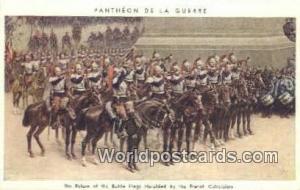 Pantheon de la Guerre Germany, Deutschland Postcard Return of Battle Flags he...