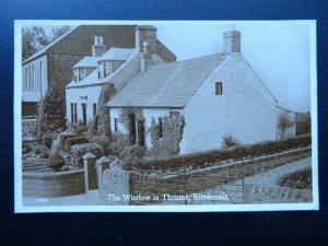 Scotland KIRRIEMUIR JM Barrie The Window in Thrums c1920s RP Postcard J.B. White
