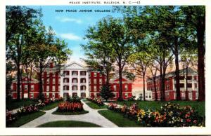 North Carolina Raleigh Peace Institute Now Peace Junior College