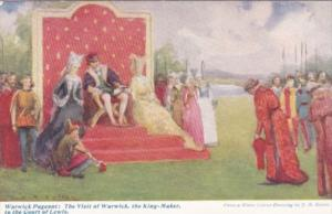 England Warwick Pageant The Visit Of Warwick The King Maker To The cOurt Of L...