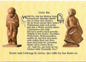 Germany 1975.  Poem - Guter Rat