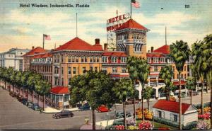 Florida Jacksonville The Windsor Hotel 1946