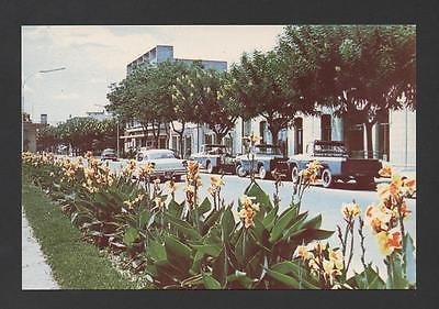 postcard 1960years ANGOLA NOVA LISBOA  & cars car  AFRICA...