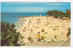 World Famous Doctor's Cave Beach, Montigue Bay, Jamaica, 40-60s