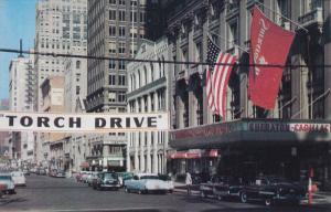 Washington Boulevard , North , Detroit , Michigan , 50-60s