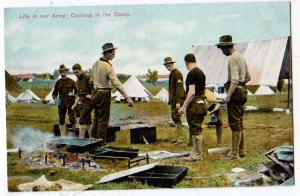 Life in the Army, Cooking