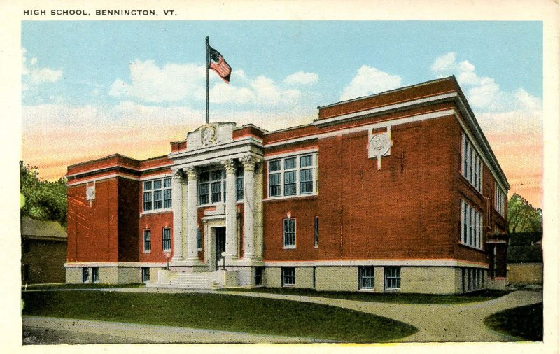 VT - Bennington. High School