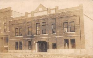 D48/ Estherville Iowa Ia Real Photo RPPC Postcard c1910 New Armory Building