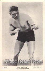 Paul Journee, Boxing Unused light paint crack bottom edge, very light corner ...