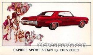 Caprice Sport Sedan Chevrolet Auto, Car Unused