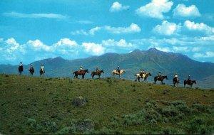 Montana Horseback Trip Through The Rockies