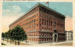 DC - Washington. Government Printing Office