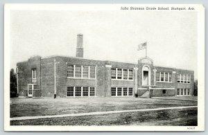 Stuttgart Arkansas~Julia Shannon Grade School~1931 B&W Postcard