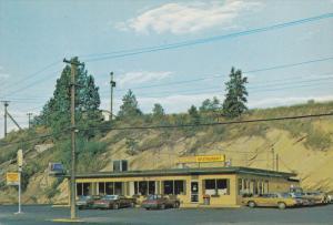 Village Kitchen Restaurant and Bus Depot, Princeton, British Columbia, Canada...