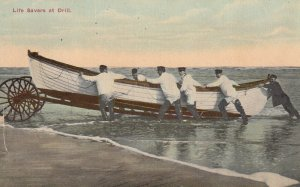 NEW JERSEY, 1900-1910s; Life Savers At Drill