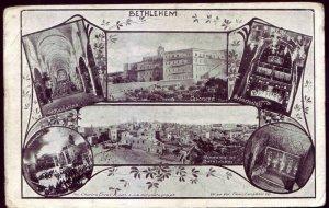 Israel Palestine Bethlehem views - Holyland Levant postcard Christianity