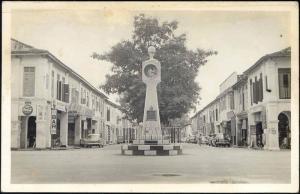 malaysia, PORT DICKSON, Clock Tower, Cars, Coca Cola RP