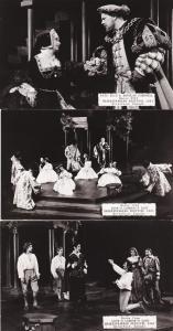(3 cards) RPPC 1961 Shakespeare Festival - Stratford, Ontario, Canada